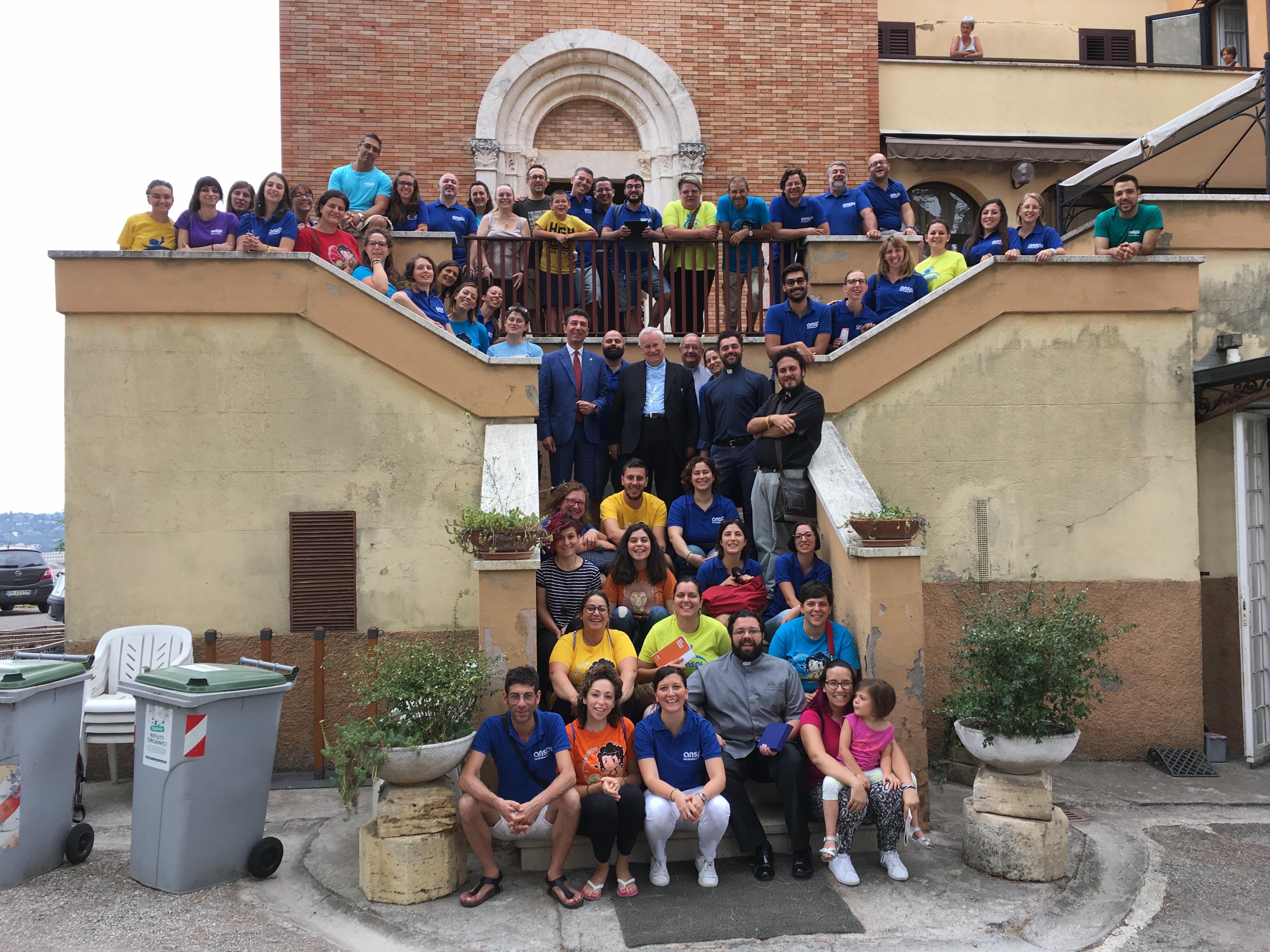 Stage Nazionale formatori ANSPI Perugia 2017